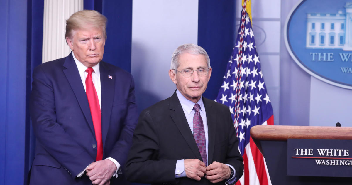 White House unloads on Fauci for dire warning about pandemic